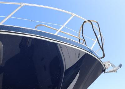 vue pont avant d'un bateau - tout pour le bateau